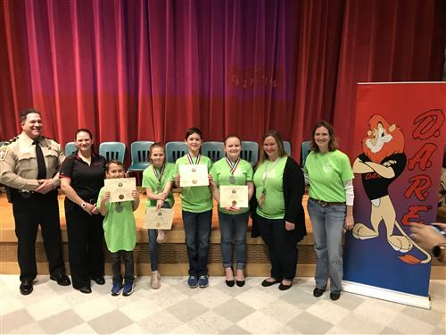DARE Graduation Essay Winners