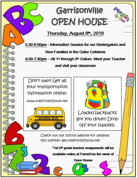 2019-2020 Open House