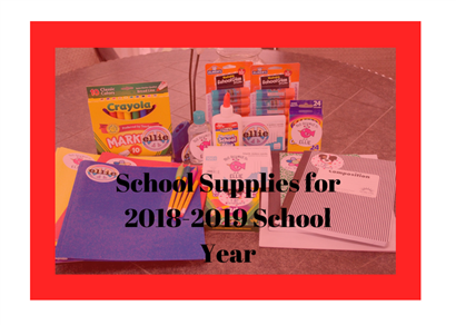 2018-2019 School Year Supply List