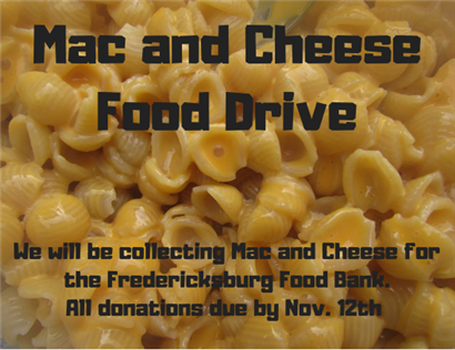 Mac and Cheese Food Drive