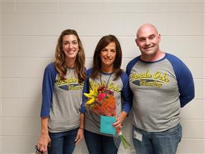 Congratulations to Mrs. Stacey Bolen for being chosen as Service Employee of the year!