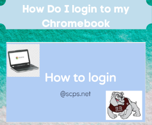 How to log your Student into their Chromebook