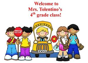 Welcome to Mrs. Tolentino's 4th Grade Class!