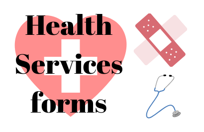 Health services forms 2019-2020