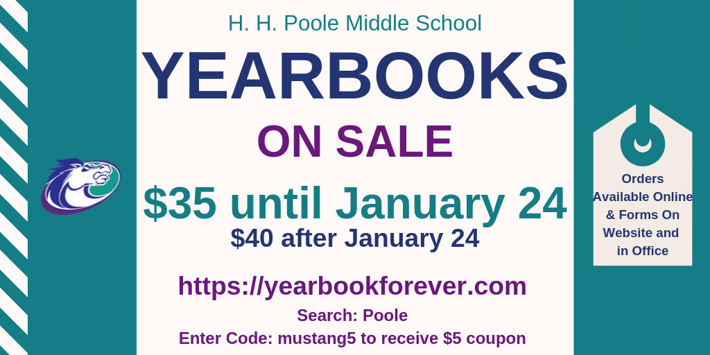 Yearbook Order Form 2019-2020