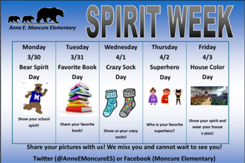 MES Virtual Spirit Week