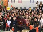 Garrisonville Elementary fourth and fifth graders with Joshua Morgan Sr.