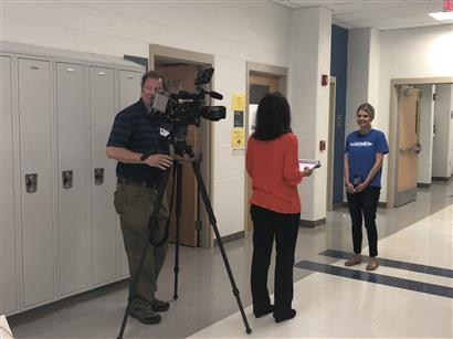 WJLA talks to teacher at SHS