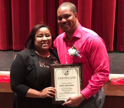 SCPS Instructional Support Person of the Year Mr. Jackson