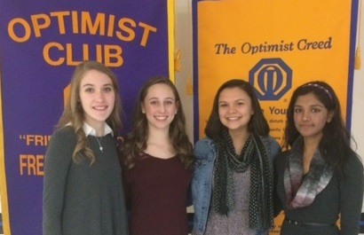 Fredericksburg Optimist Students of the Month