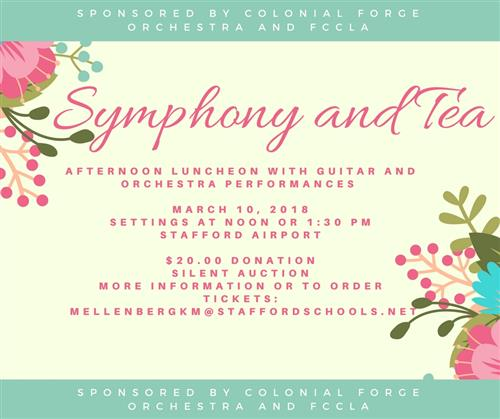 Symphony and Tea Poster