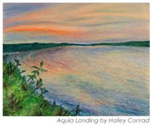 Aquia Landing by Hailey Conrad