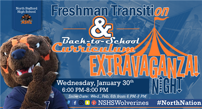 Freshman Transition and Back-to-School Curriculum Extravaganza Night