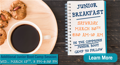 Junior Breakfast and Boot Camp Sessions