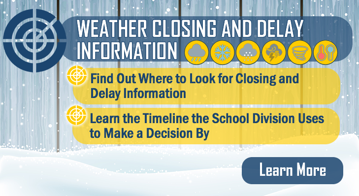 School Division Procedures on Weather Closings and Delays