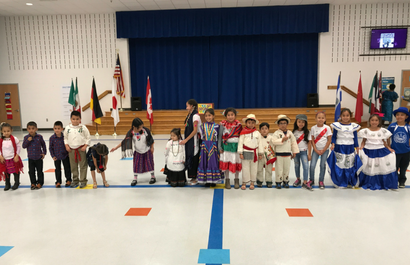 Multicultural Night at Hampton Oaks
