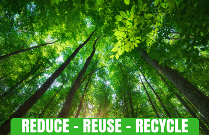 Forest with Reduce - Reuse - Recycle