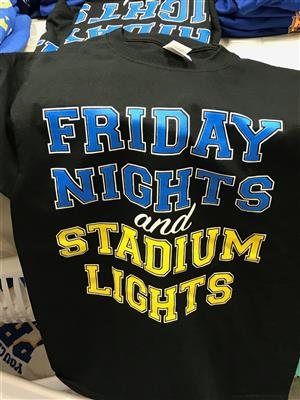 Black Friday Nights and Stadium Lights Tshirt
