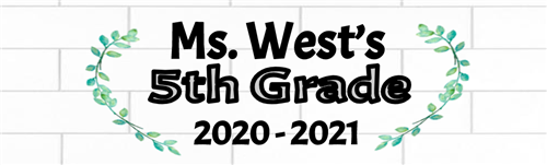 Ms. West's 5th Grade