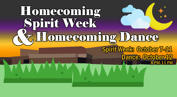 Homecoming Spirit Week and Homecoming Dance