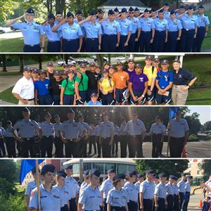NSHS Air Force JROTC group pictures