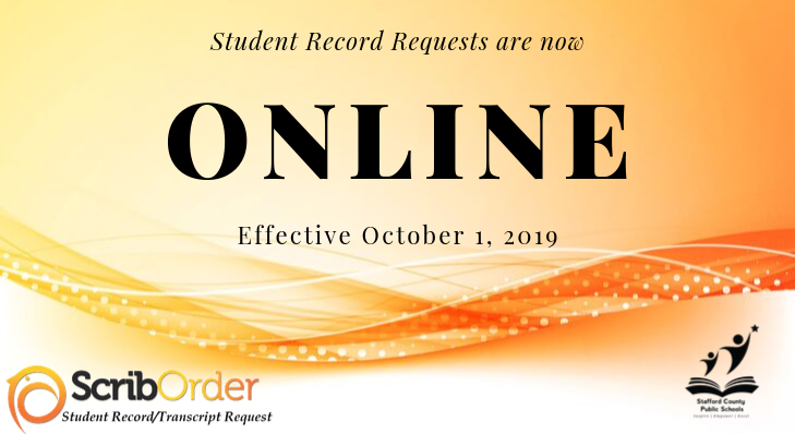 Student Record Requests are now Online
