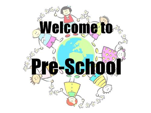 Welcome to Pre School