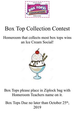 Box Top Collection Contest