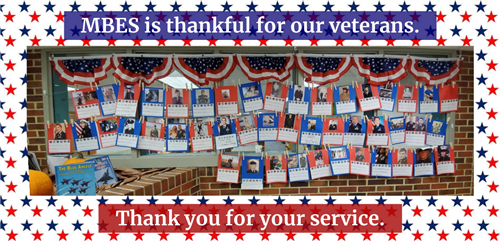 MBES is thankful for our veterans. Thank you for your service.
