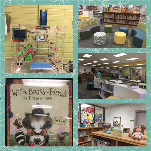 Rockhill Elementary Library