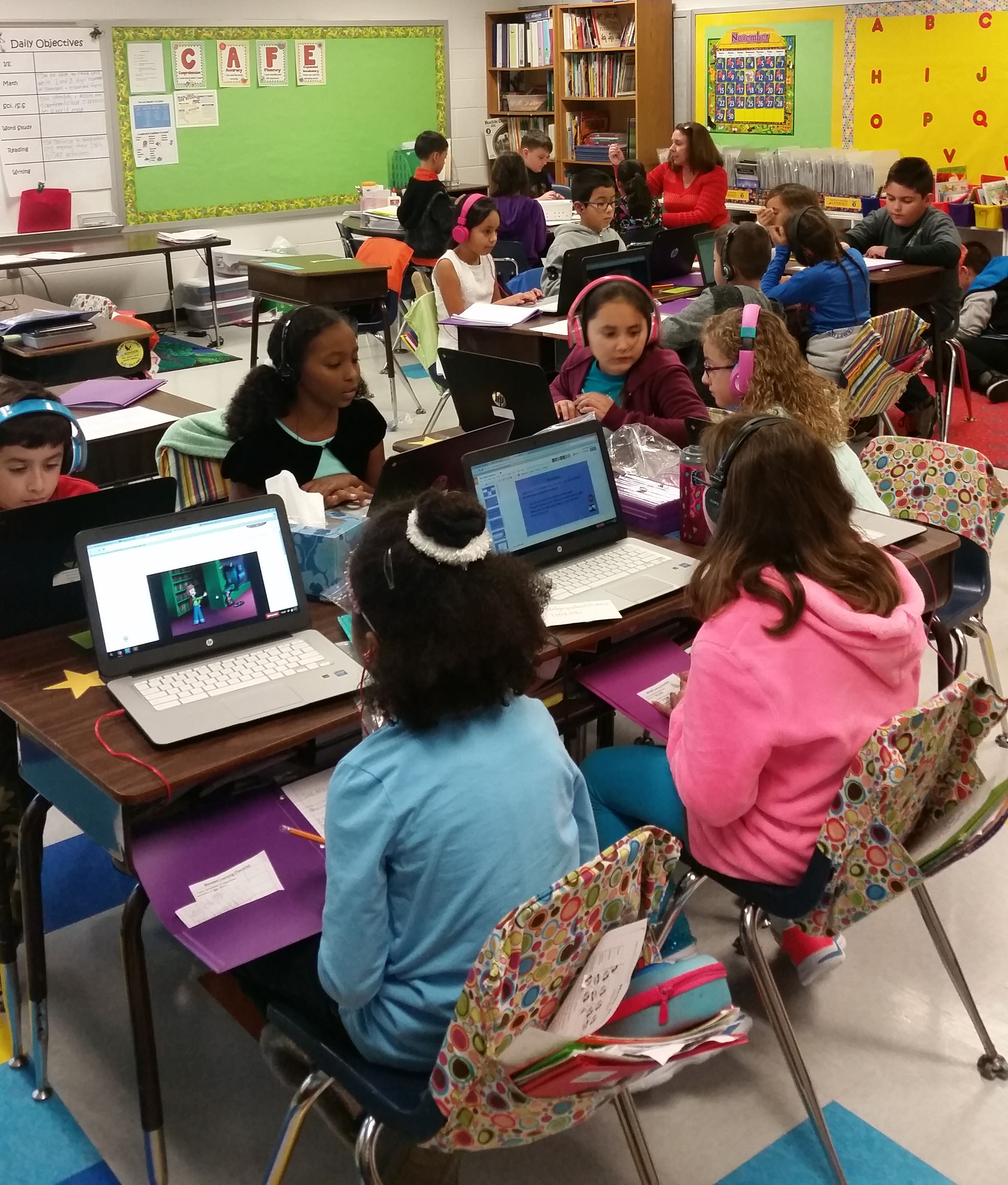 Blended Learning in Stafford Elementary Schools