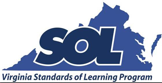 Virginia Department of Education (SOL's)